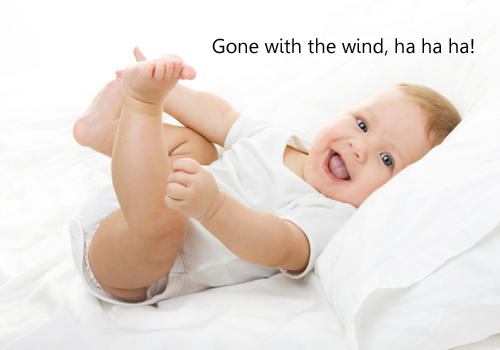 Does your child have a windy bottom?