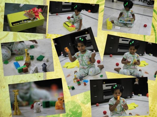 Lego Zoo from yellow giraffe