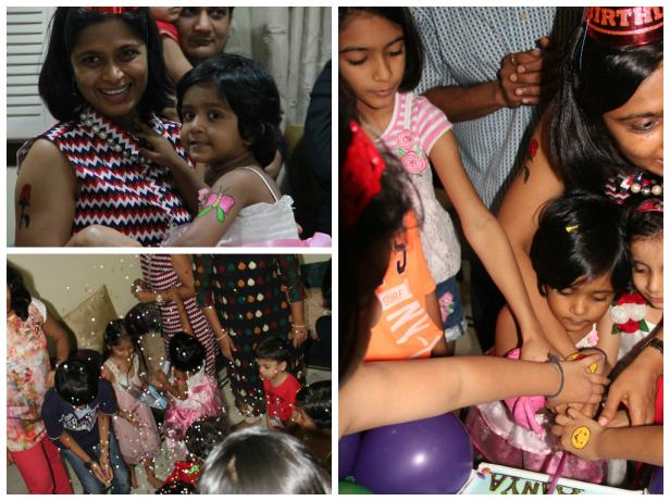 3rd Barney theme birthday party