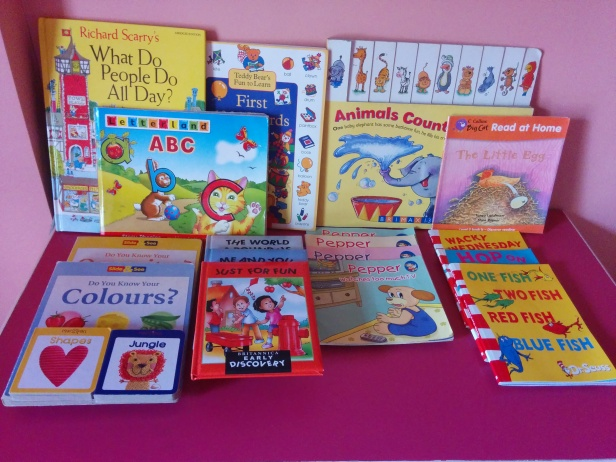 Books for toddlers - board books