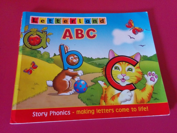 Books for toddlers - Letterland books