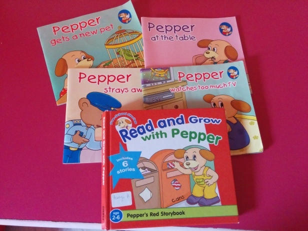 Books for toddlers - Pepper books