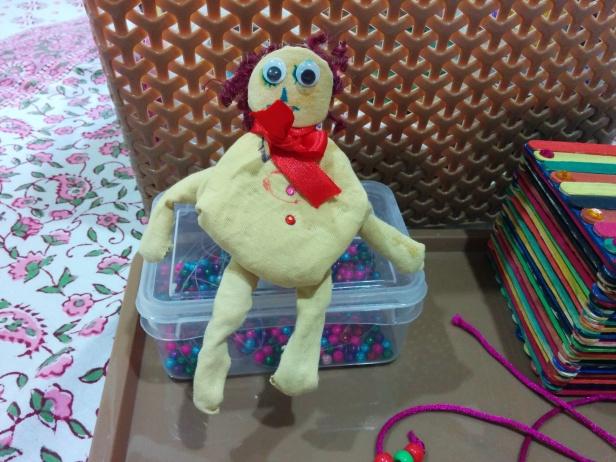 busy box - rag doll