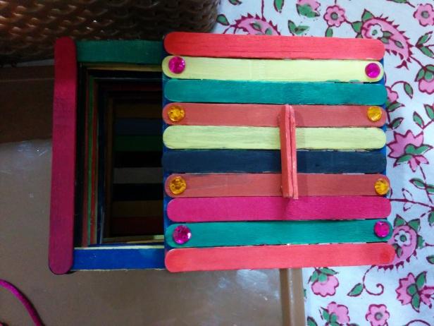 busy box- trinket box